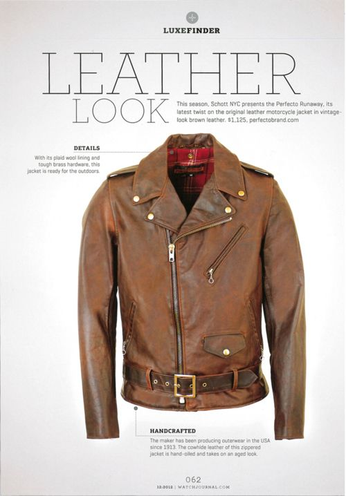 Schott leather jackets and motorcycle apparel