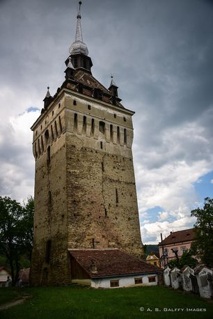 The Clock Tower in Sighisoara, Romania