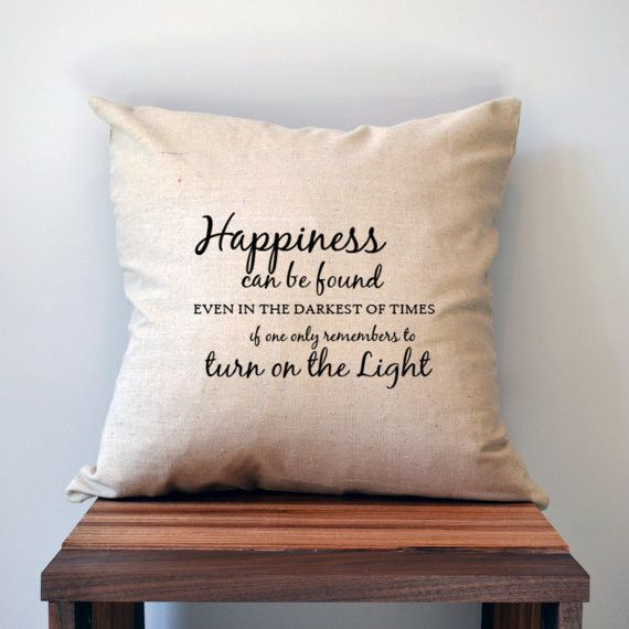Happiness Can Be Found... Pillow Cover