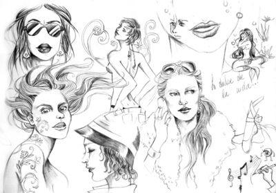 Portafolio de Ilustración - Mujeres