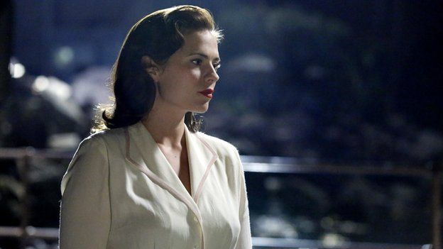Hayley Atwell in 1940s superhero spin-off Agent Carter
