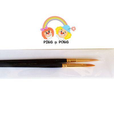Pensule pentru pictura pe fata pensule fine si precise face painting