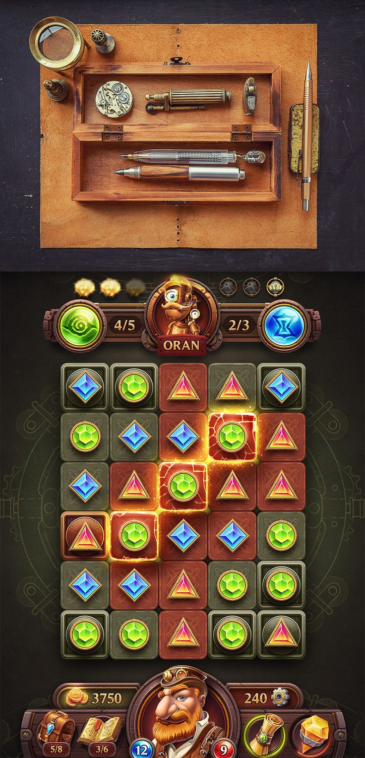 【Mike】iOs-Game-Match3--2