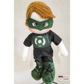 Boneco de Pano Lanterna Verde 40cm