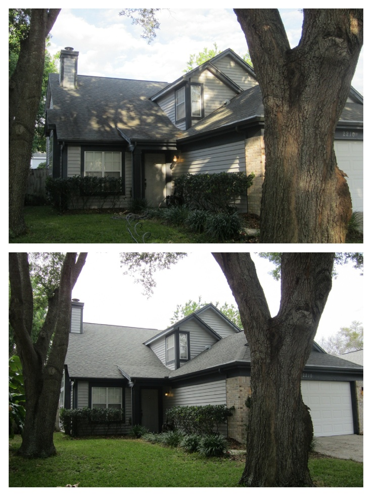 Another Safe Roof Cleaning In The Conway Area Of Orlando. 407 656 0442