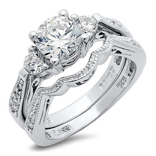 21 best wedding band sets images on Pinterest | Wedding ...