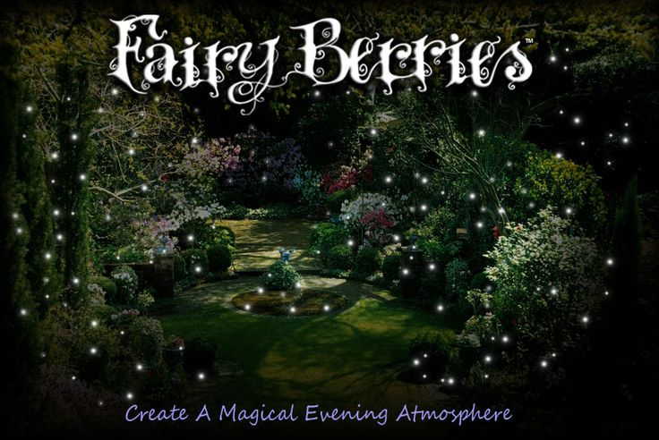 Fairy berries - little independent glow balls that fade on and off. If I had a yard I would cover it in these.
