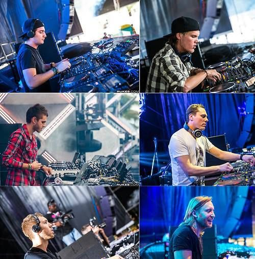 Alesso, Avicii, Zedd, Tiesto, Calvin Harris, & David Guetta