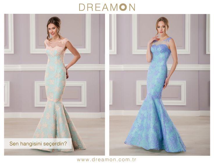 """DreamON BitterSweet abiye koleksiyonu Avignon modeli  """"Sen hangi rengi seçerdin?""""  Somon ya da Lila  www.dreamon.com.tr  #bittersweet #avignon #gelinlik #gelinlikmodelleri #dreamongelinlik #dreamon #gelinlikler #geceelbisesi #abiyeelbise #somon #lila"""