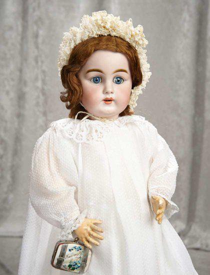"25"" German bisque doll, m... Auctions Online | Proxibid"