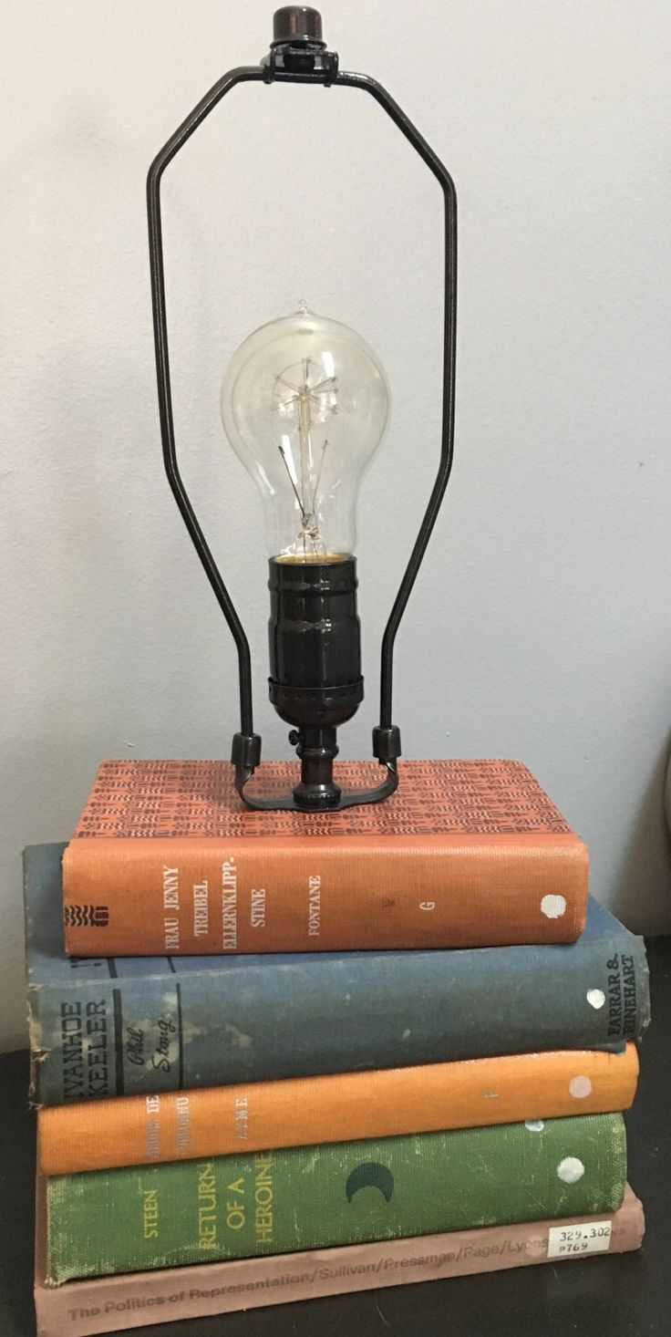 Best 25+ Book lamp ideas on Pinterest | Bedside lamp, Cool lamps ...