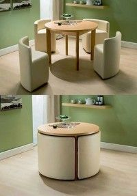 Küçük evler için mobilya