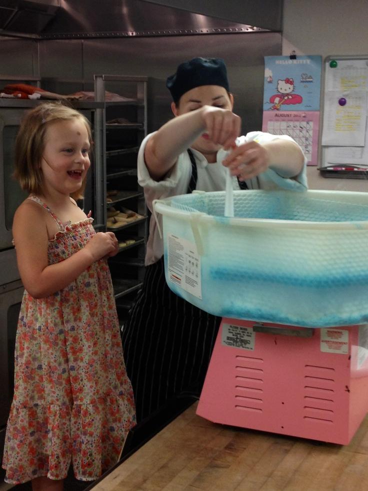 Getting the sugar spinning: Sugar Spin