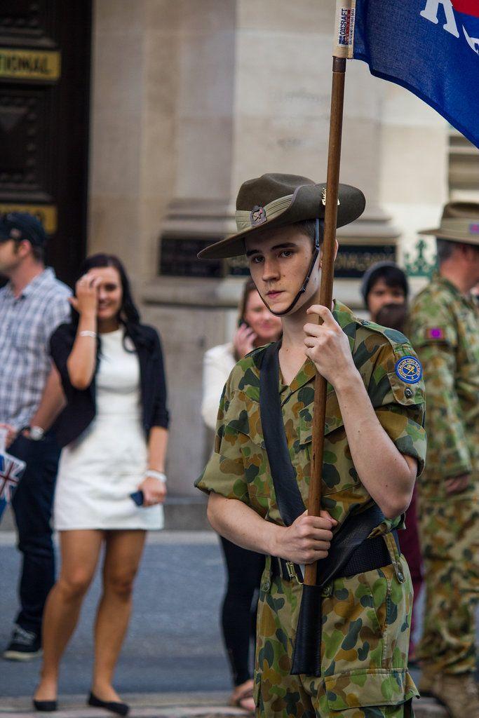 Anzac Day 2013 - Brisbane, QLD, Australia