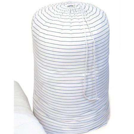 Cotton Comforter Storage Bag, 3-Pack, White