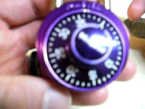 how to open a combination lock without the combination dudley