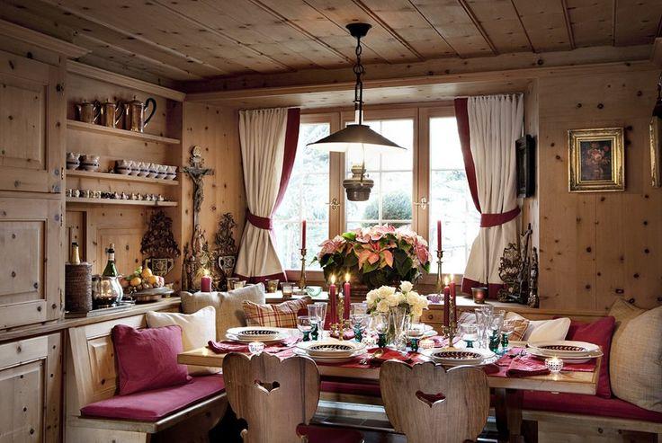 chalet interior design ideas - Google Search