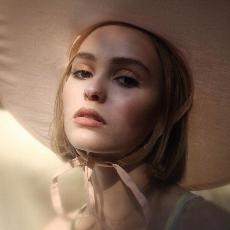 Lily-Rose Depp poses for Oyster Magazine feature, her first fashion shoot.