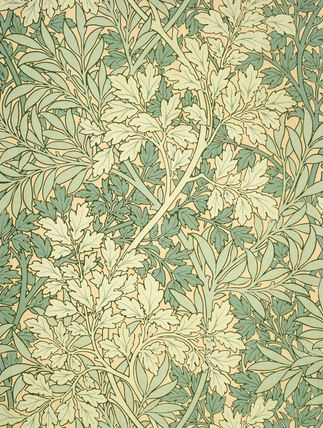 Foliage wallpaper, by William Morris -- High quality art prints, framed prints, canvases -- V Prints