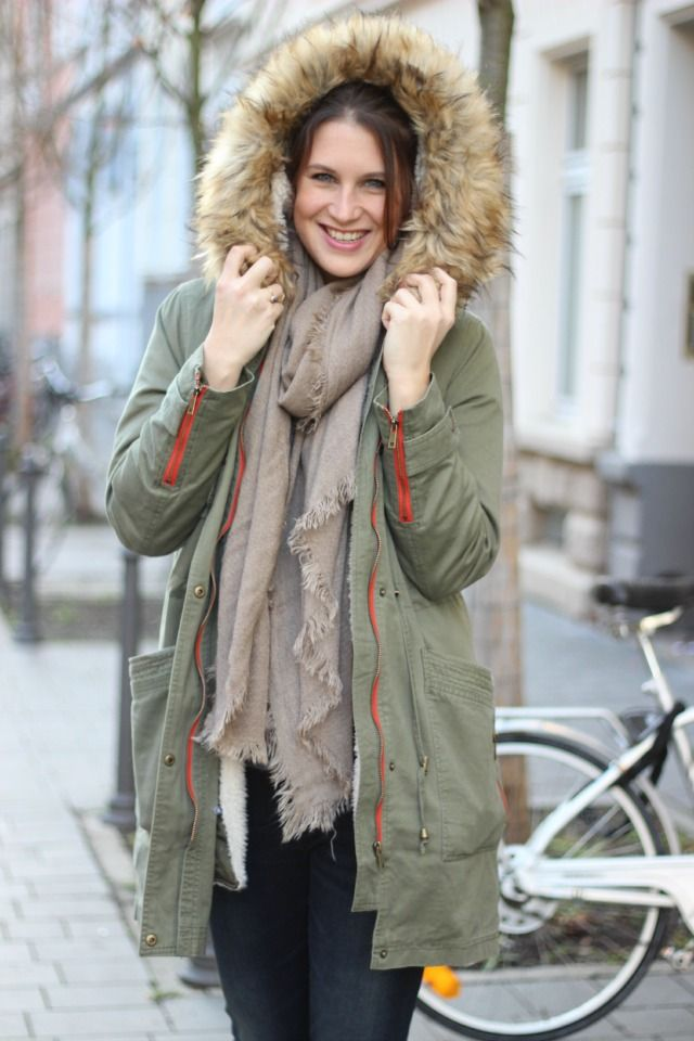 How to style a Parka - Winter Edition // http://www.thegoldenkitz.de