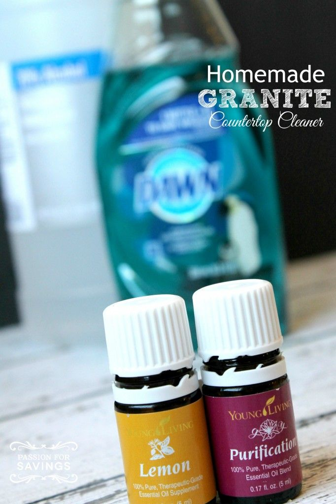 There S No Need To Buy Expensive Granite Countertop Cleaners Just