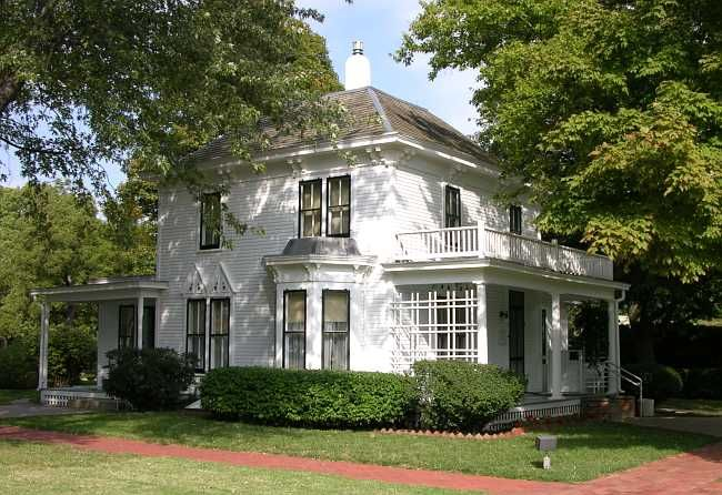 The Eisenhower Family home in Abilene, Kansas.  It is on the site of the Presidential Library.
