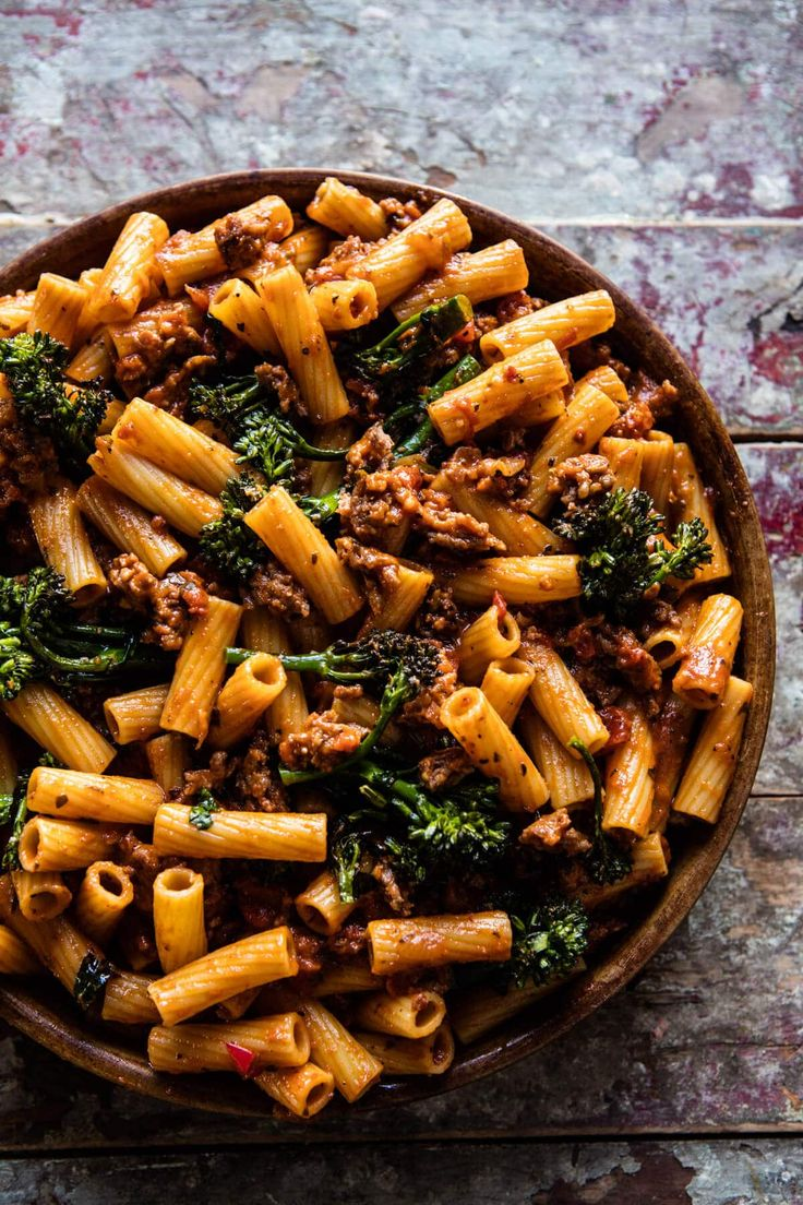 Rigatoni Broccoli Rabe Bake   halfbakedharvest.com @hbharvest