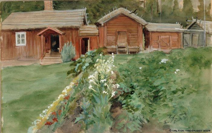 Edelfelt, Albert  Karlssons stuga, 1905.