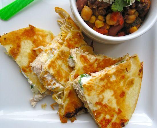 Quesadillas de Pollo (Chicken Quesadillas) | My Colombian Recipes