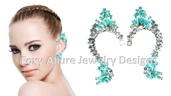 So. Much. WANT. O-O  Too bad my ears aren't pierced... ;[
