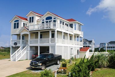 Avon vacation rentals time away oceanside outer banks for Hatteras cabins rentals