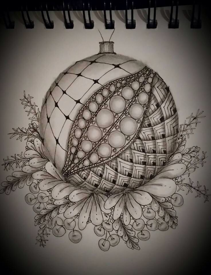 17 Best images about Zentangle Christmas on Pinterest ...