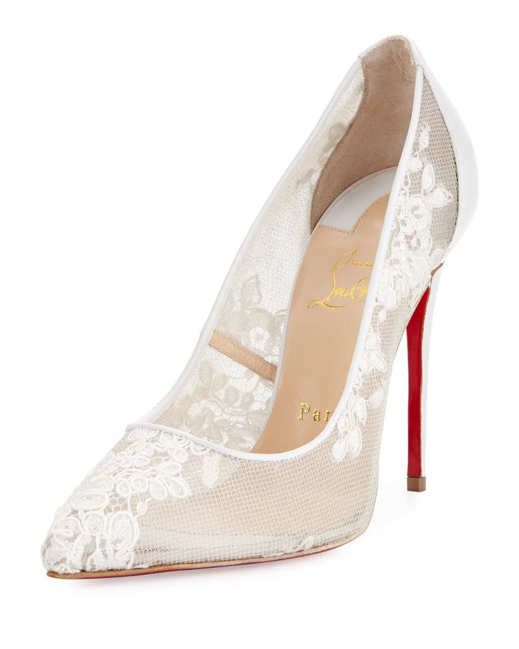 Designer Shoes for Weddings : Favorite wedding shoes by Christian Louboutin.  See More. Christian Louboutin: http://www.stylemepretty.com/2016/01