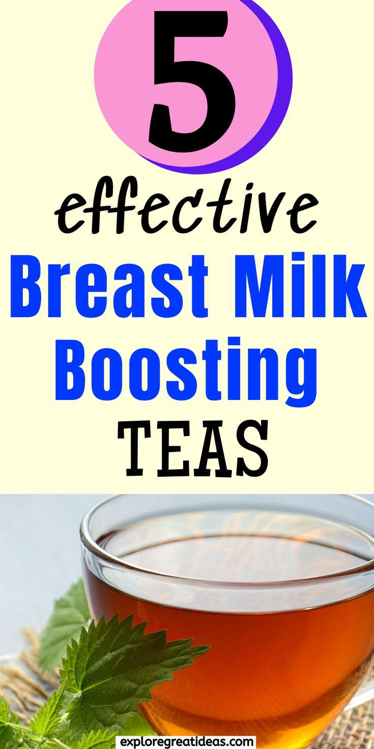 Milk boosting best lactation teas for breastfeeding moms