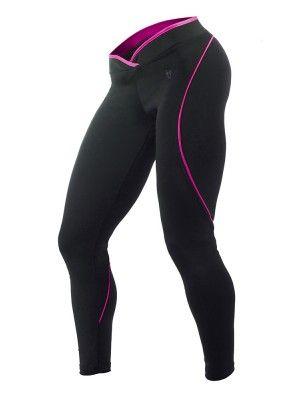 Blonde Destroyer Long tights, Black Pink