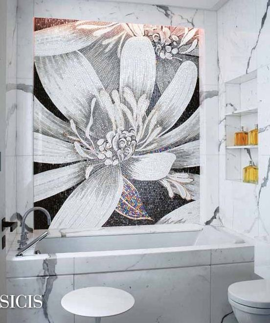 Top 25 Ideas About SICIS Flower Power Mosaic Collection On