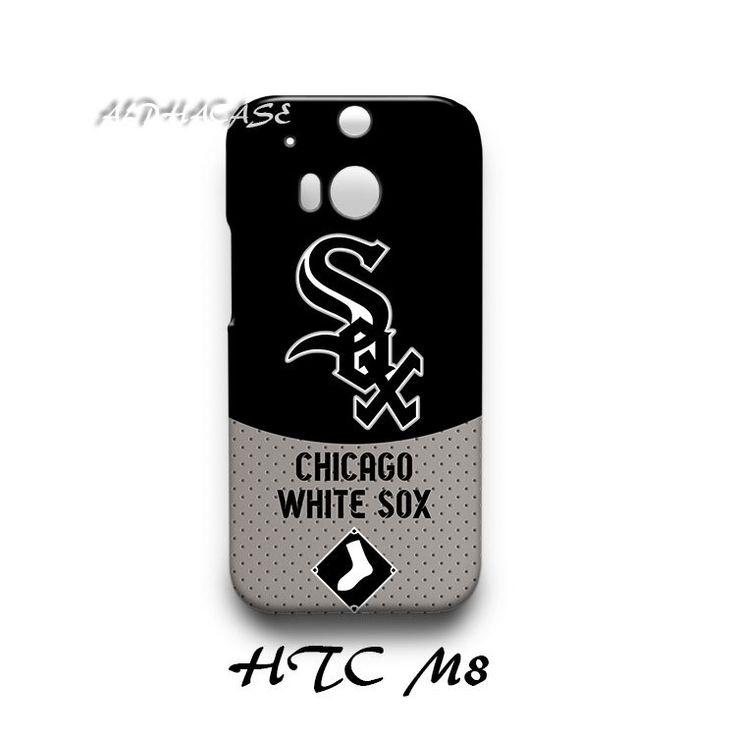 Chicago White Sox HTC M8 Hardshell Case Cover
