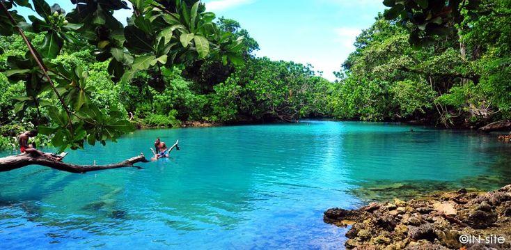 Blue Lagoon, Efate, Vanuatu