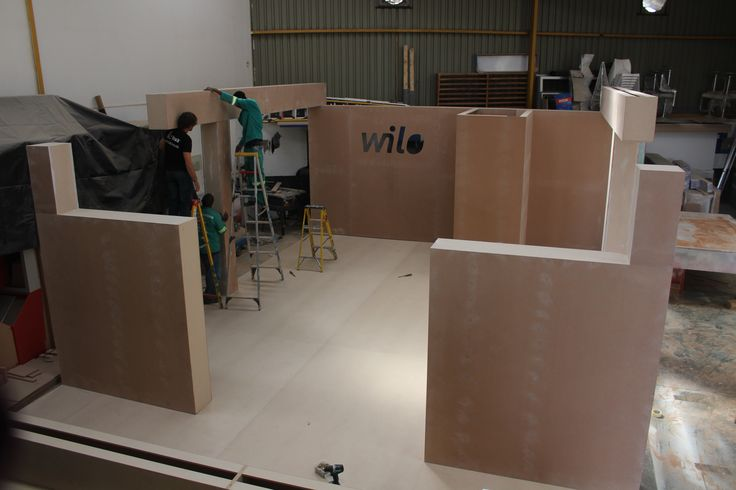 Pre Build for Wilo Pumps at our prefab factory.. Catch them @ IFAT Africa!!