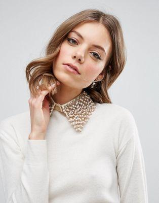 ASOS Bead Embellished Collar