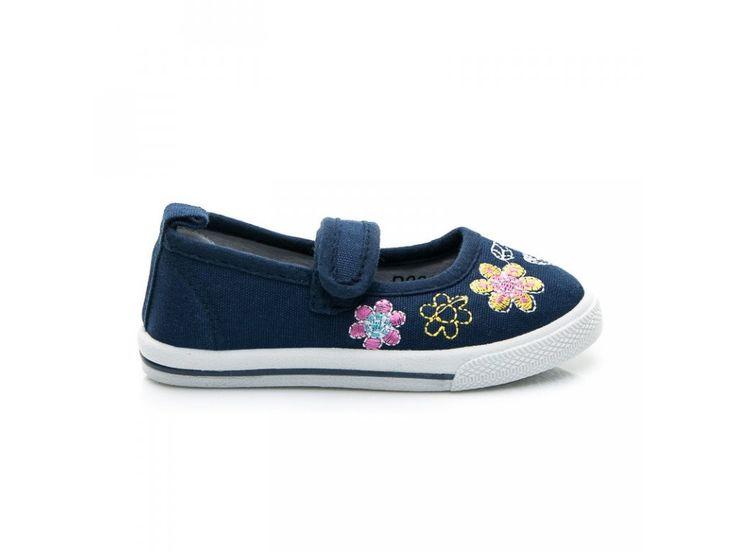 Modré detské topánky Paťka