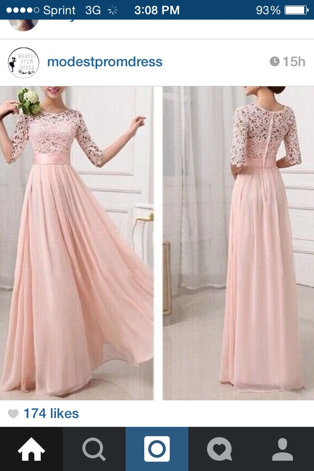 Prom dresses! Maybe with short sleeves?