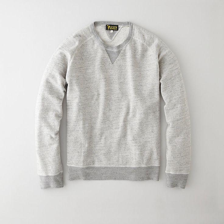 Levi's Vintage Clothing 1950's Crew Sweatshirt | Mens Sweatshirts | Steven Alan and coming soon to Attire