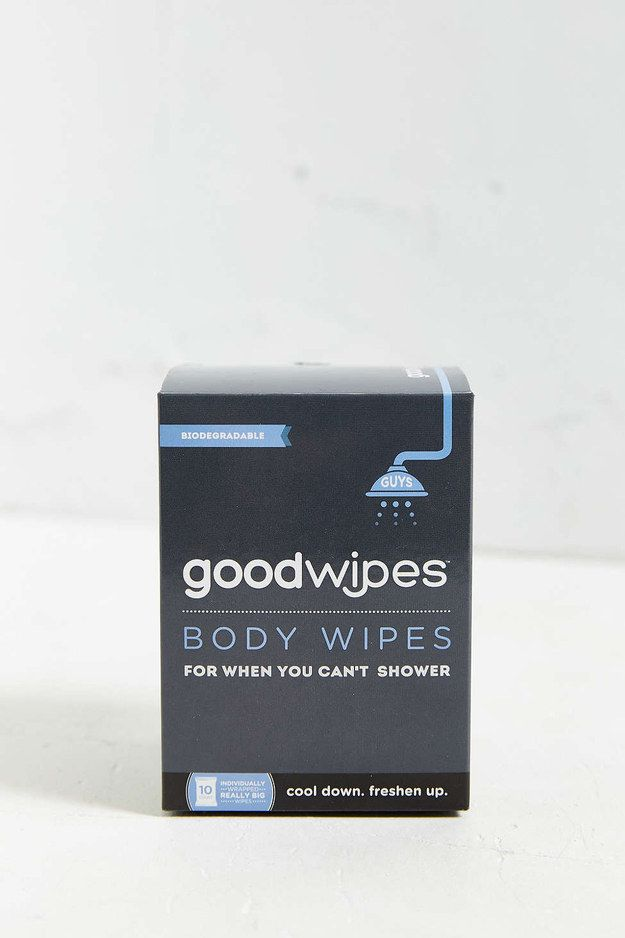 These deodorizing body wipes for when showering is just not in the cards: | 17 Gifts Outdoorsy People Will Absolutely Love