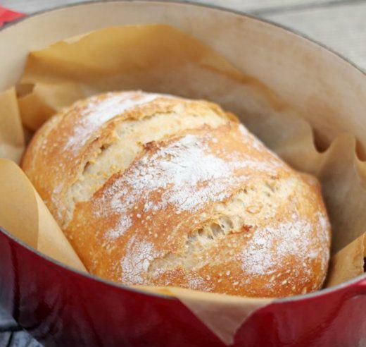 Σπιτικό ζυμωτό ψωμί