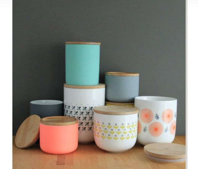 Love these gorgeous canisters from notonthehighstreet.com