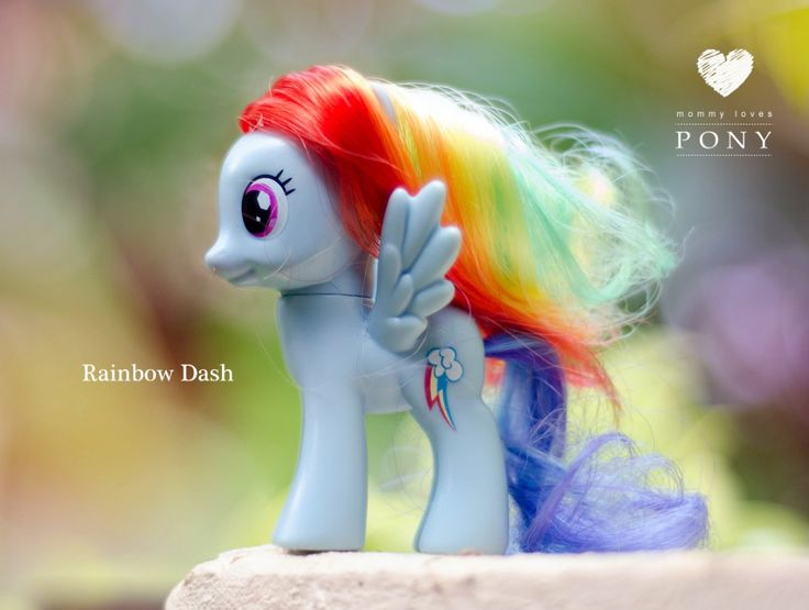 Rainbow Dash,  Радуга Дэш.