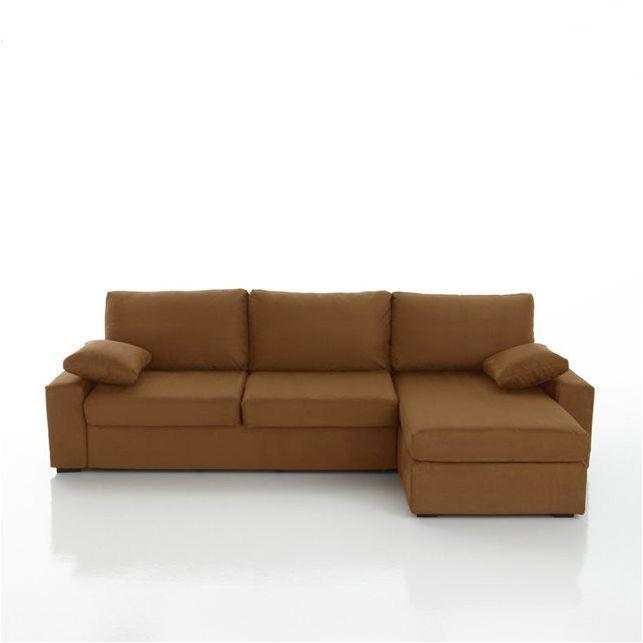 Canapé d'angle lit, couchage express, microfibre, Java 1702€
