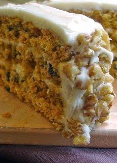 Triple-Layer Carrot Cake | Cocina Adicto