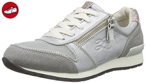 Tom Tailor Tom Tailor Damenschuhe, Damen Sneakers, Silber (silver), 37 EU (*Partner-Link)